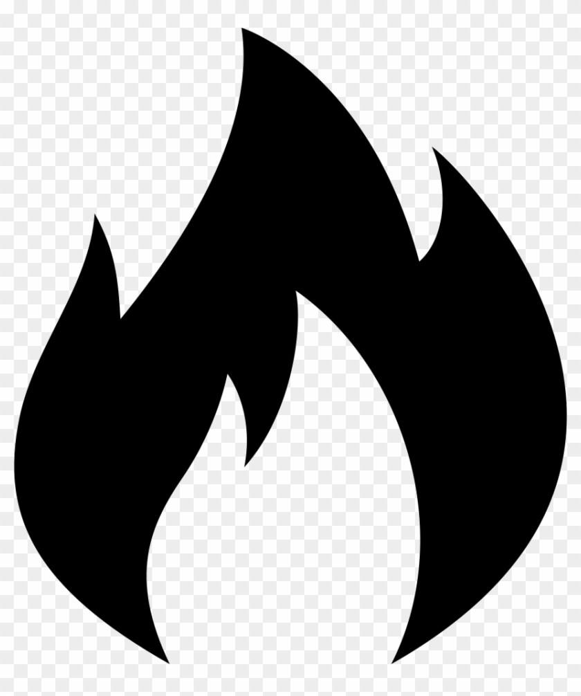 Black and white fire clipart 5 » Clipart Portal.