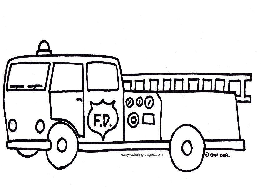 black and white fire truck clip art 20 free Cliparts ...
