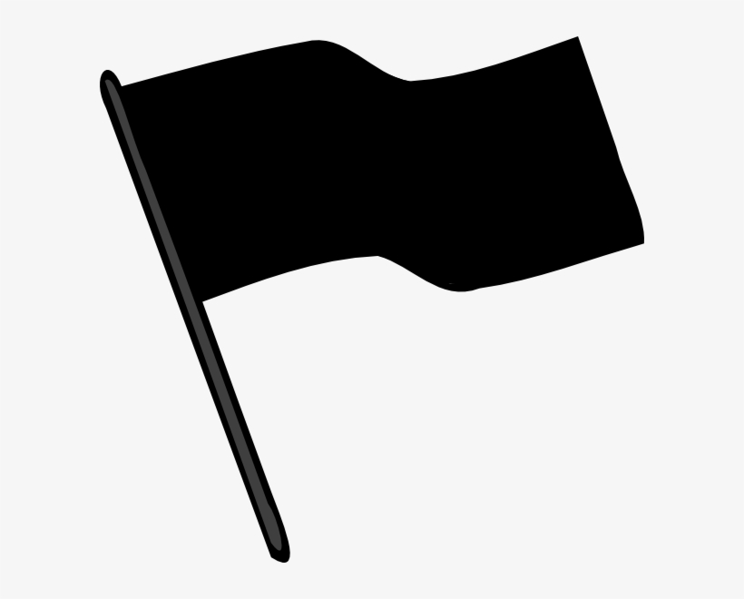 Black And White Flag Clip Art.