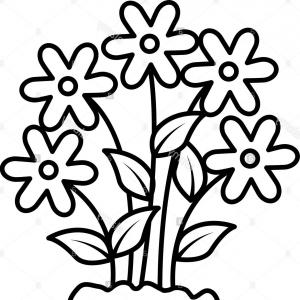 Black And White Flower Clipart New Hawaiian Flower Clip Art Black.