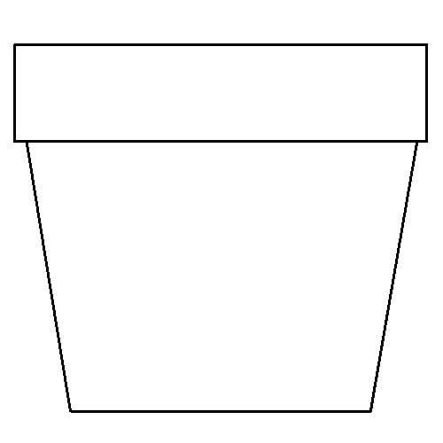 Free Flower Pot Outline, Download Free Clip Art, Free Clip.