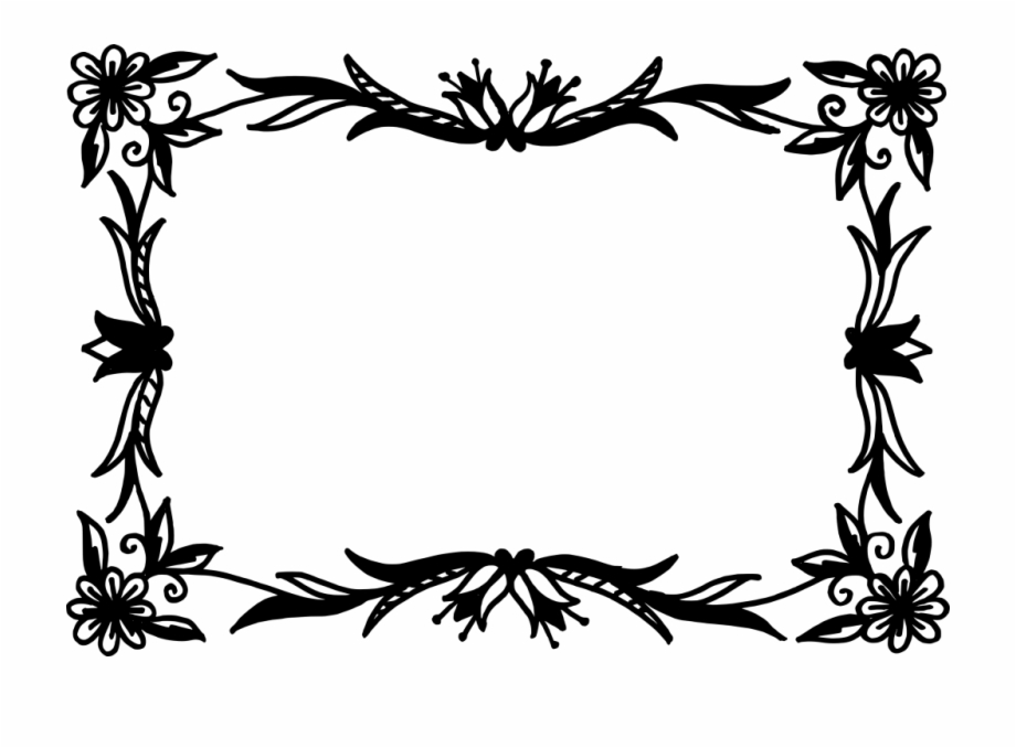 Clipart Library Rectangle Flower Vector Png Transparent.