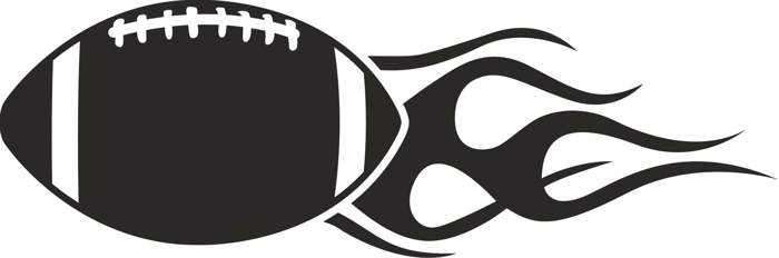 Football clipart black and white 1 » Clipart Station.