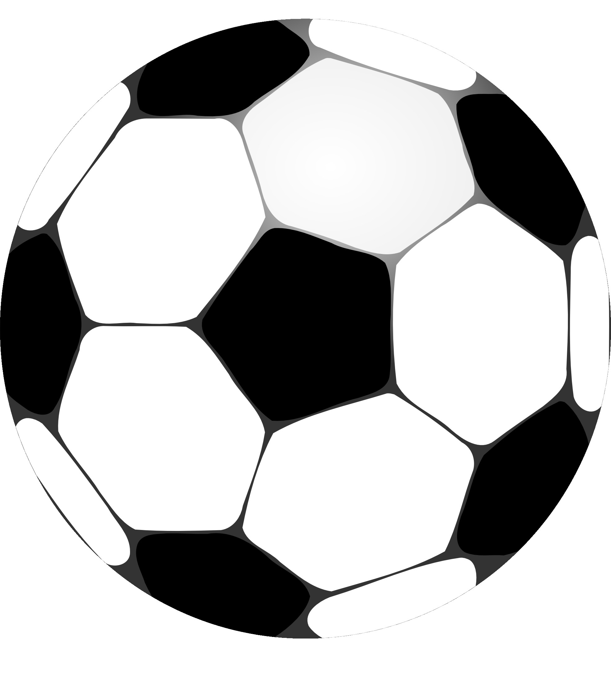 Football black and white football clipart black and white 2.