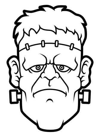 Frankenstein clipart black and white 4 » Clipart Station.
