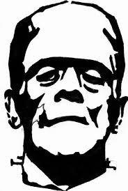 Frankenstein clipart black and white 1 » Clipart Station.