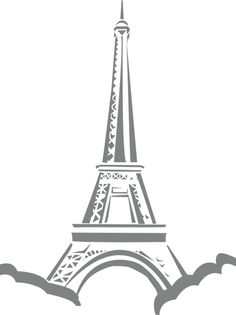 Black And White French Clipart.
