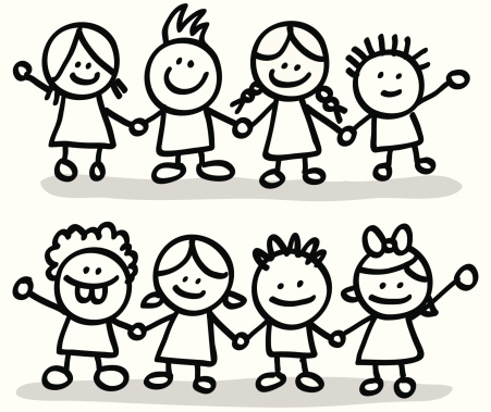 Friends clipart black and white 8 » Clipart Station.