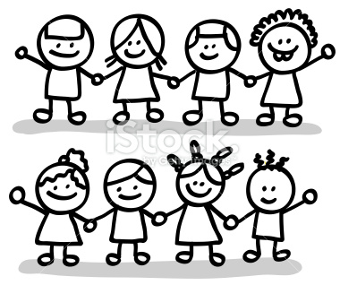 Free Friends Clipart Black And White, Download Free Clip Art.