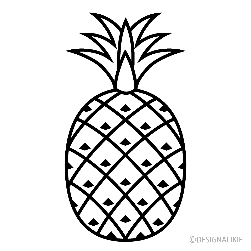 Free White Pineapple Icon Image|Illustoon.