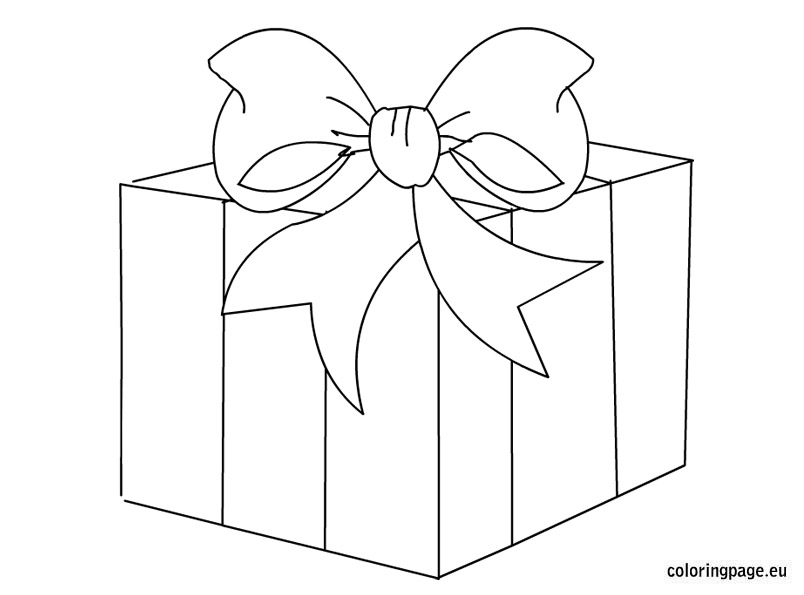 Gift box clipart black and white 8 » Clipart Station.