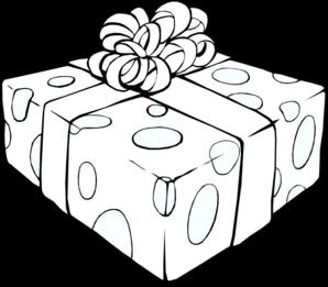 Gift Outline Clip Art at Clker.com.