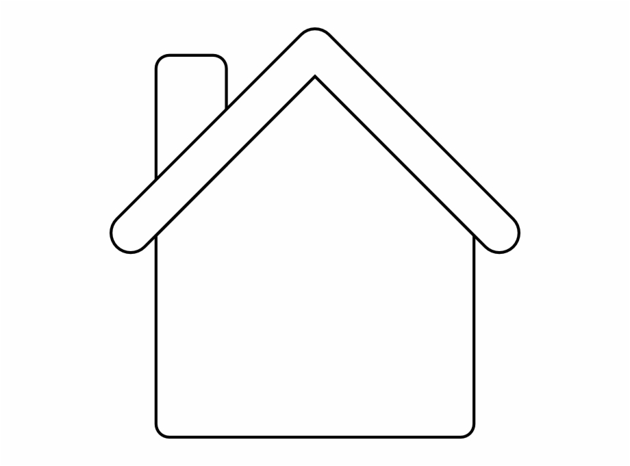 Gingerbread House Outline Clip Art 94184 Gingerbread House.