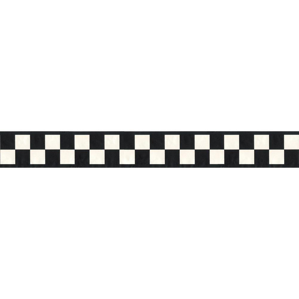Images For Black And White Checkered Border.