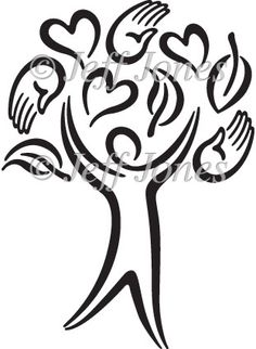 Helping Hands Clipart Black And White.
