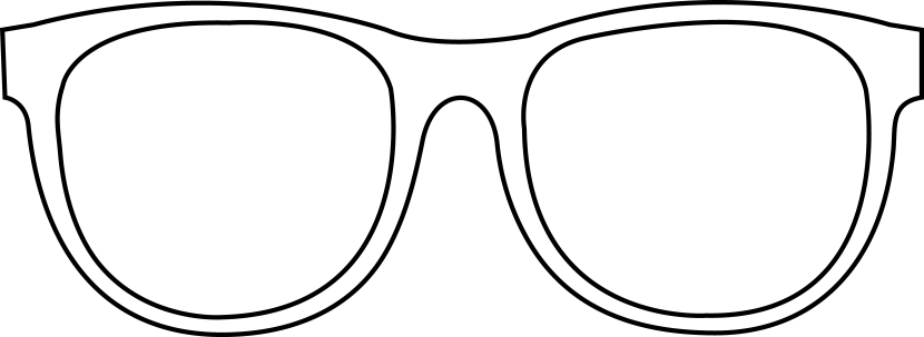 Free Sunglasses Clipart Black And White, Download Free Clip.