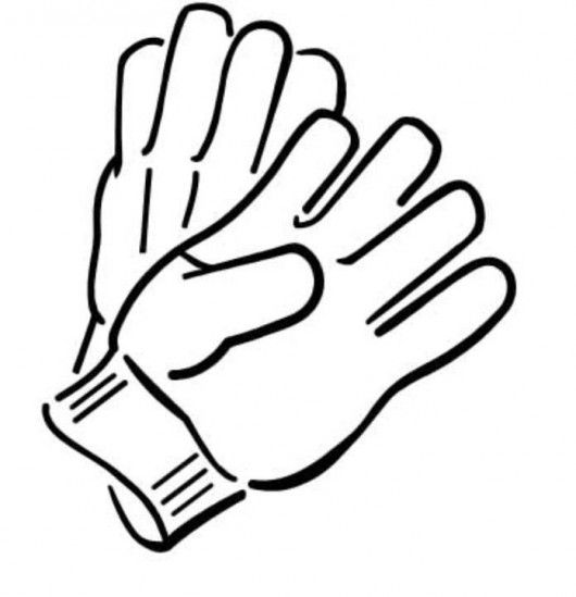 Free Gloves Clipart Black And White, Download Free Clip Art.