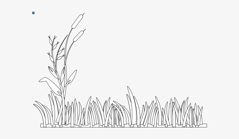 White Grass Clip Art At Clker.