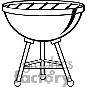 Grill clipart black and white 2 » Clipart Station.