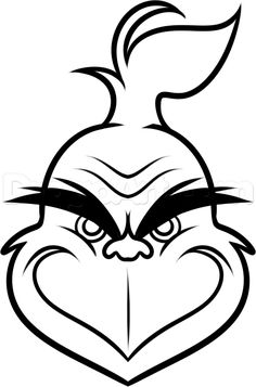 Free Grinch Clipart Black And White, Download Free Clip Art.