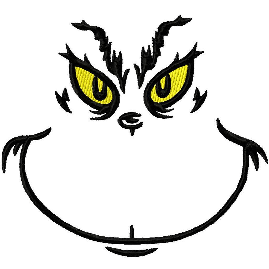 Grinch Face Clipart Group (+), HD Clipart.
