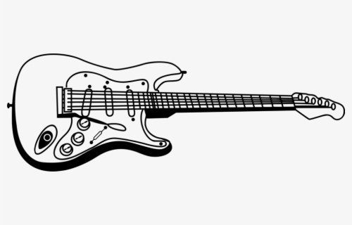 Free Bass Guitar Clip Art with No Background.