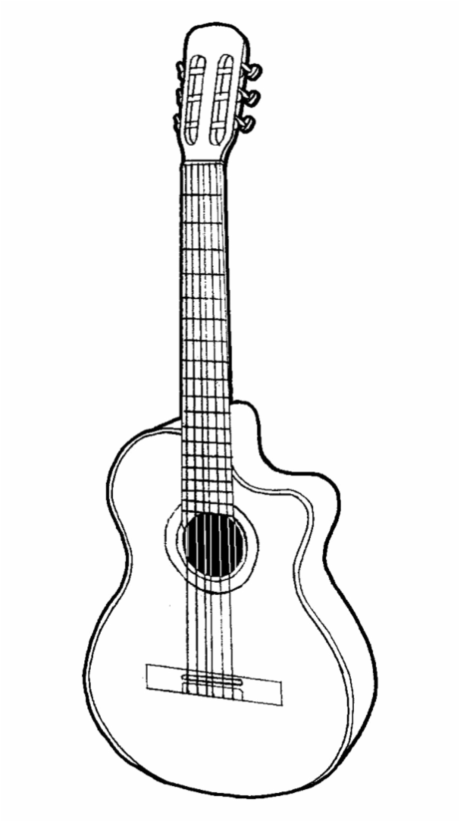guitar #draw #drawing #scrapbook #scrapbooking #design.
