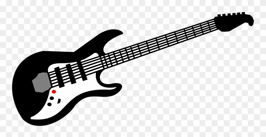 Free Vector Electric Guitar Clip Art.