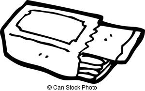 Gum clipart black and white 4 » Clipart Station.