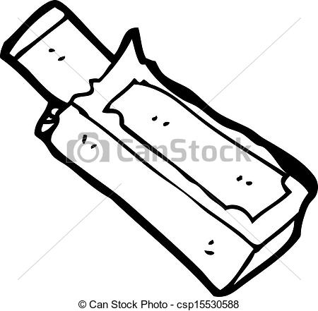 Gum clipart black and white 2 » Clipart Station.