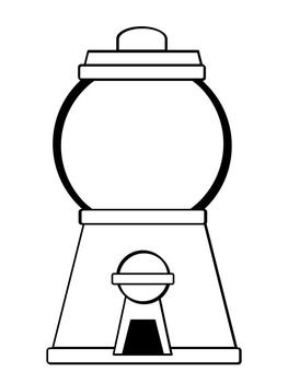 Gumball Machine Coloring Pages FREEBIE.