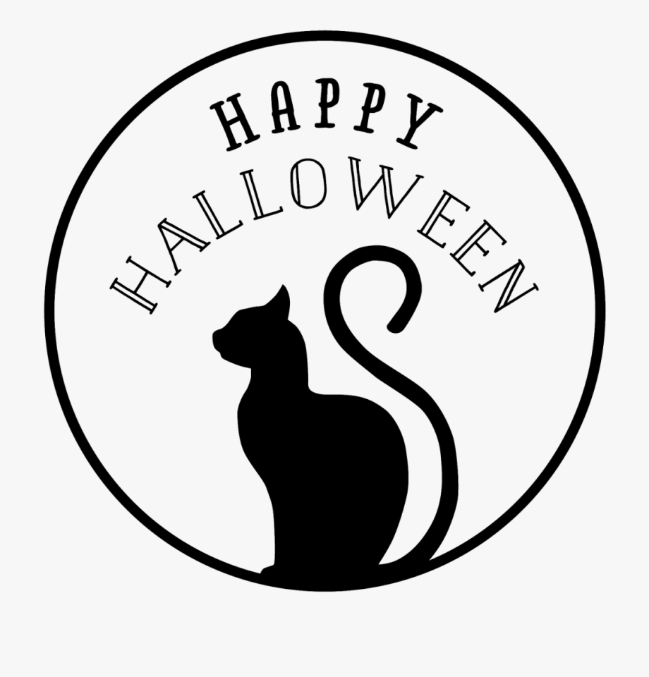 Halloween Black Cat Png.