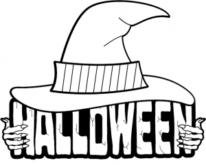 Halloween black and white happy halloween clip art black and white.