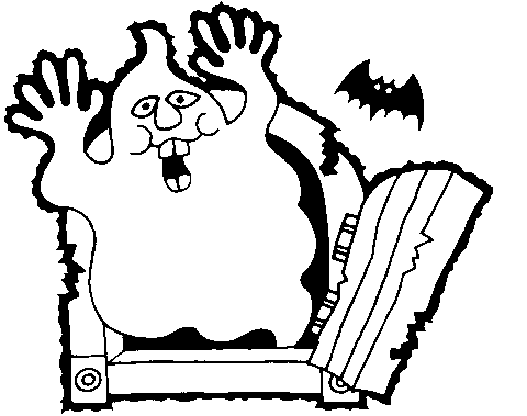 Halloween Clipart Black And White.