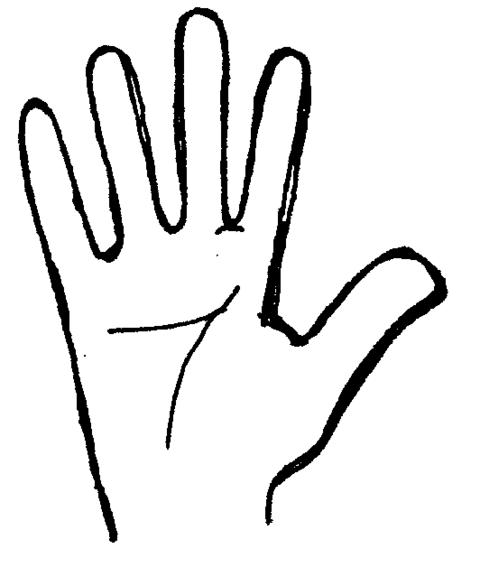 Clipart open hand clipart.
