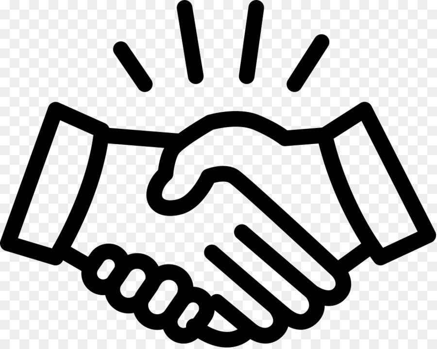 1361 Handshake free clipart.