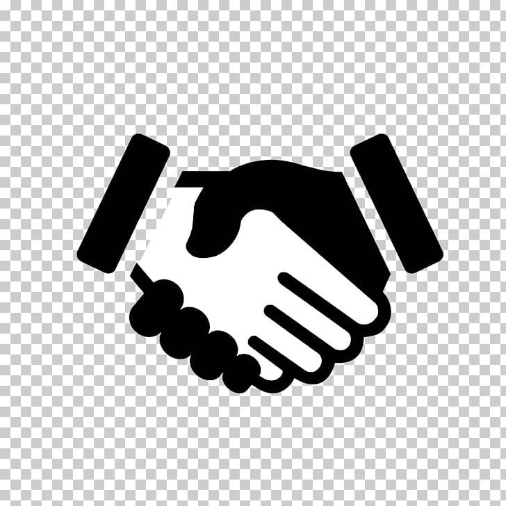 Computer Icons Handshake Symbol, shake hands, black and.