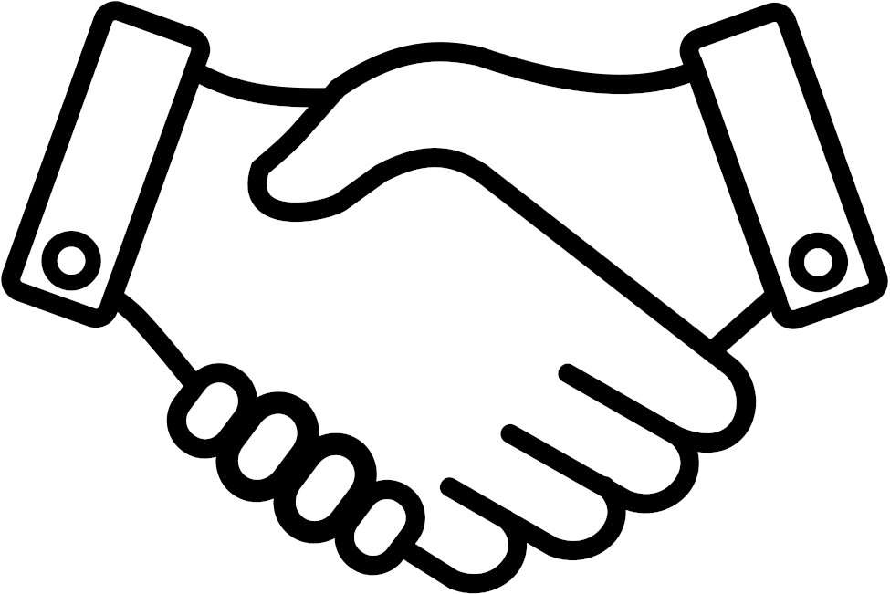Handshake Clipart Support.