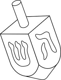 Image result for hanukkah clip art black and white.