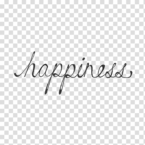Happiness Quotation Black and white Saying, quotation.