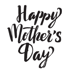 Happy Mothers Day Png Black And White & Free Happy Mothers.