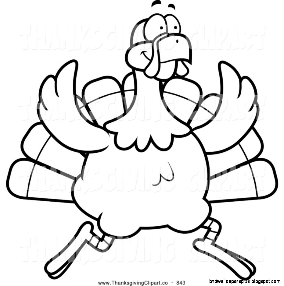black and white happy thanksgiving clipart 20 free ...