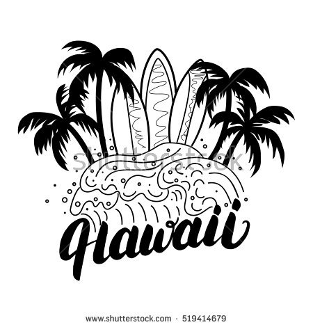 1532 Hawaii free clipart.