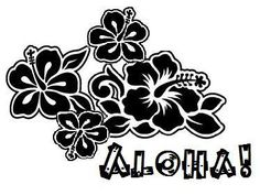 Free Hawaii Clipart Black And White, Download Free Clip Art.