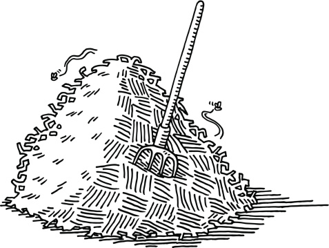 Free Hay Clipart Black And White, Download Free Clip Art.
