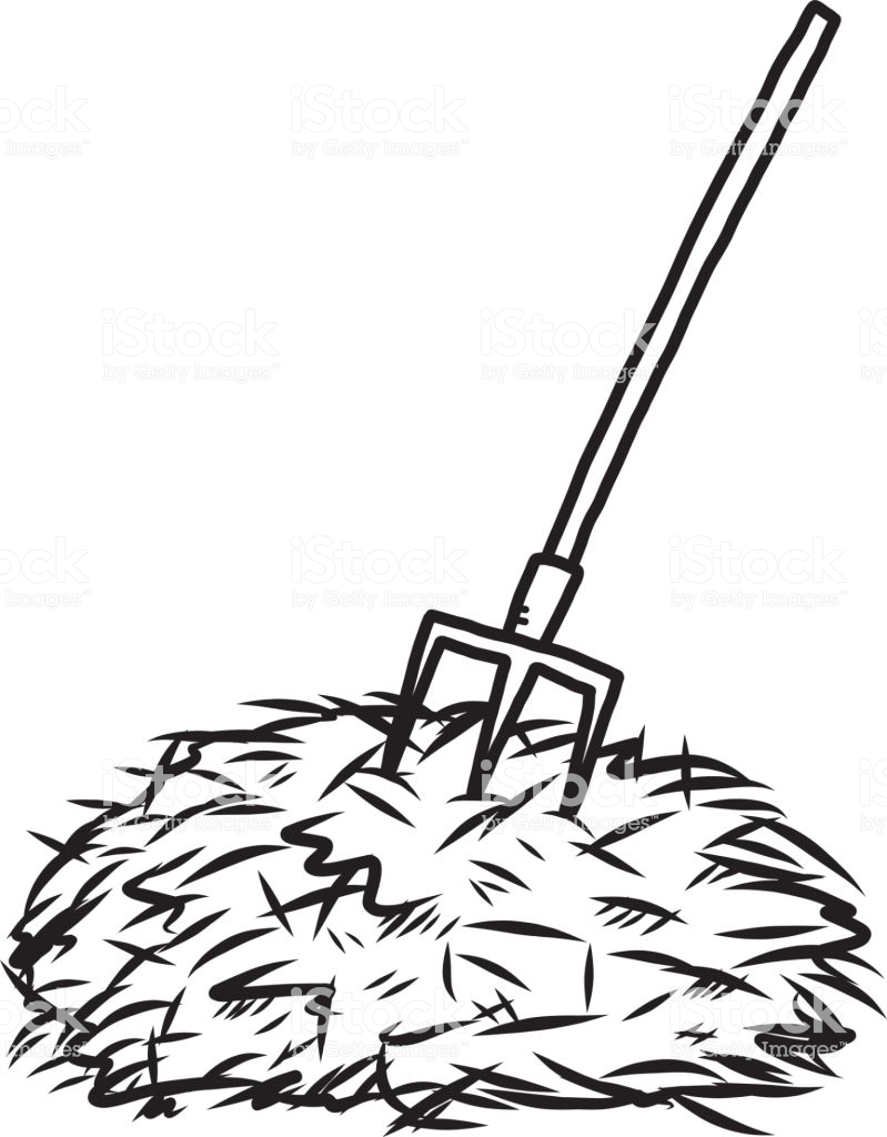 Hay clipart black and white 7 » Clipart Station.