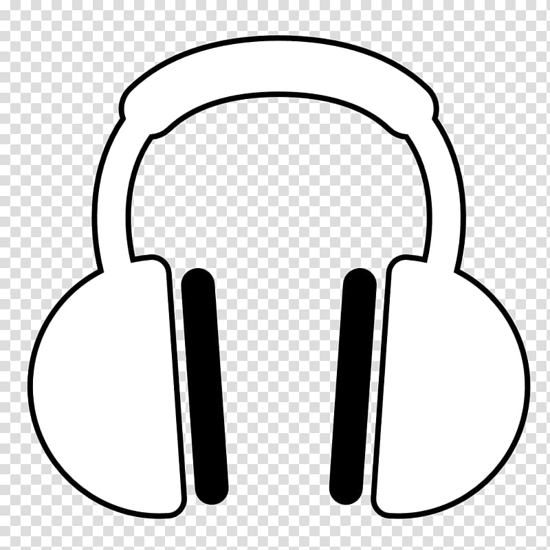 White and black headphones illustration, Headphones Beats.