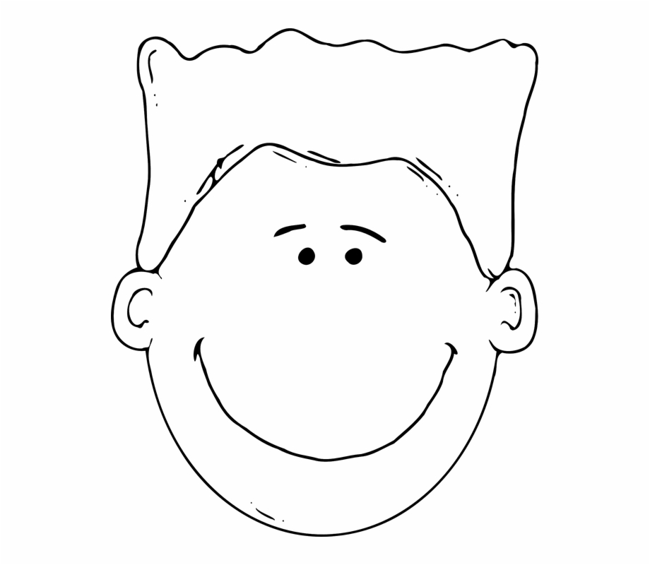 Download Free Png Face Boy Head Free Vector Graphic.