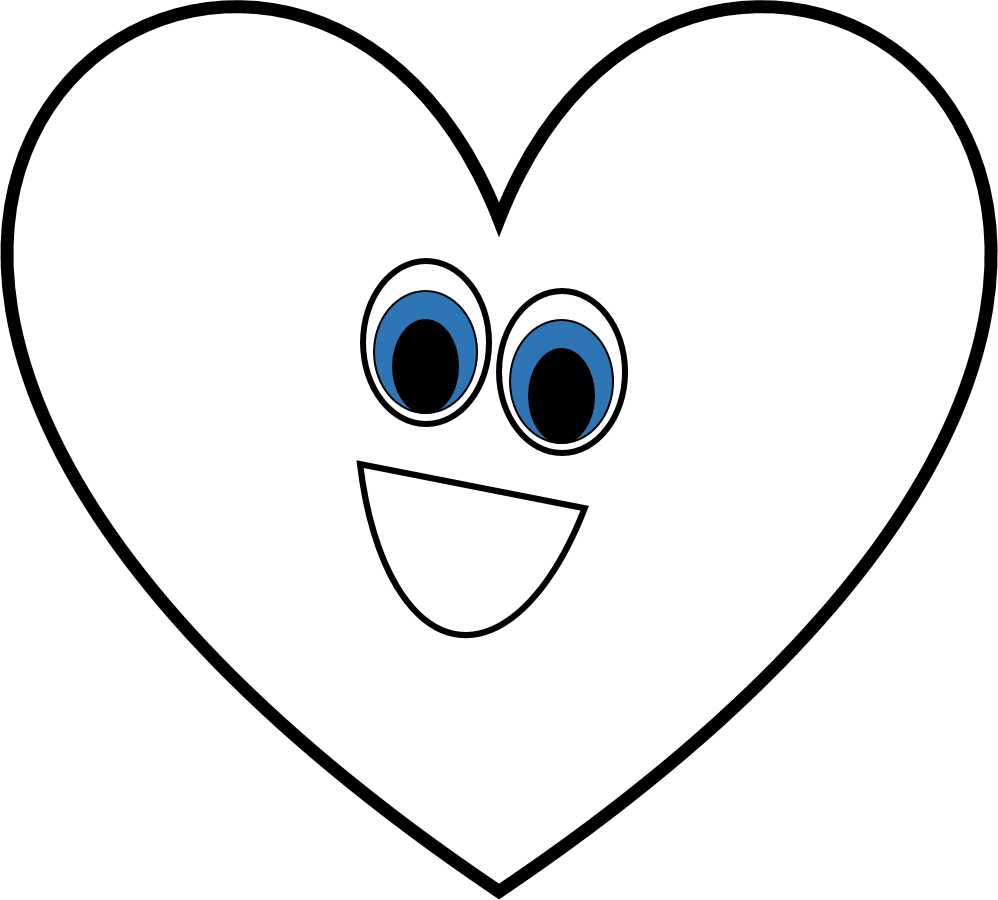 Heart black and white black and white heart shape clipart.