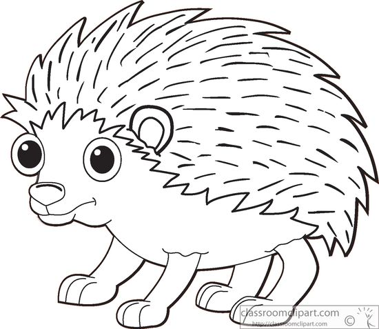 Free Hedgehog Outline Cliparts, Download Free Clip Art, Free.